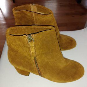Women's Splendid Boots Leather Brown 9.5